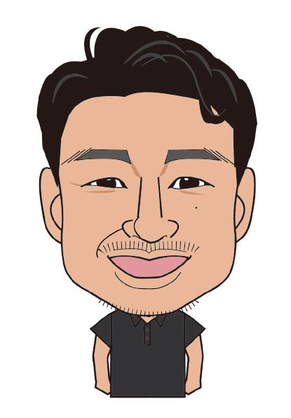 【イラスト】代表取締役 鈴木 泰仁